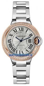 Cartier Ballon Bleu 33mm we902080 watch