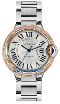 Cartier Ballon Bleu 36mm Ladies watch, model number - we902081, discount price of £11,430.00 from The Watch Source