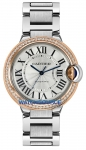 Cartier Ballon Bleu 36mm we902081 watch
