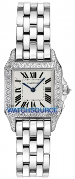 Cartier Santos Demoiselle - Small Ladies watch, model number - wf9003y8, discount price of £22,185.00 from The Watch Source