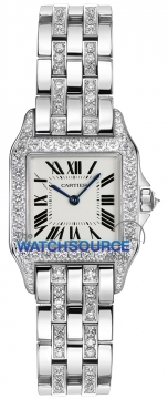 Buy this new Cartier Santos Demoiselle - Small wf9003yc ladies watch for the discount price of £24,120.00. UK Retailer.