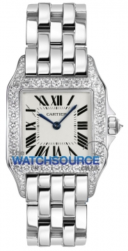 Cartier Santos Demoiselle - Midsize Ladies watch, model number - wf9004y8, discount price of £29,750.00 from The Watch Source