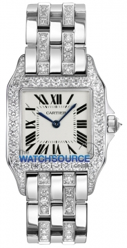 Cartier Santos Demoiselle - Midsize Ladies watch, model number - wf9010yc, discount price of £38,250.00 from The Watch Source