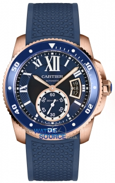 Buy this new Cartier Calibre de Cartier Diver wgca0010 mens watch for the discount price of £21,060.00. UK Retailer.