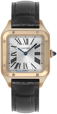 Buy this new Cartier Santos Dumont Small wgsa0022 ladies watch for the discount price of £8,190.00. UK Retailer.