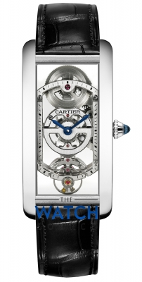 Cartier Tank Cintree whta0009 watch