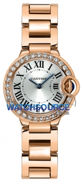 Buy this new Cartier Ballon Bleu 28mm wjbb0015 ladies watch for the discount price of £24,480.00. UK Retailer.