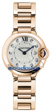 Buy this new Cartier Ballon Bleu 28mm wjbb0016 ladies watch for the discount price of £16,740.00. UK Retailer.