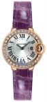 Cartier Ballon Bleu 28mm wjbb0018 watch