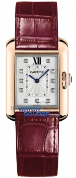 Cartier Tank Anglaise Small Ladies watch, model number - wjta0007, discount price of £8,448.00 from The Watch Source
