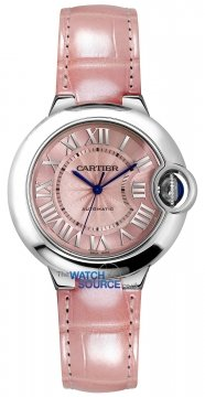 Buy this new Cartier Ballon Bleu 33mm wsbb0002 ladies watch for the discount price of £4,230.00. UK Retailer.