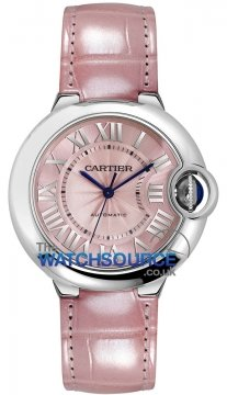 Buy this new Cartier Ballon Bleu 36mm wsbb0007 ladies watch for the discount price of £4,545.00. UK Retailer.