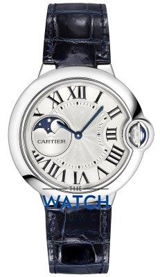 Cartier Ballon Bleu Moonphase 37mm wsbb0020 watch