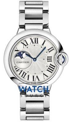 Cartier Ballon Bleu Moonphase 37mm wsbb0021 watch