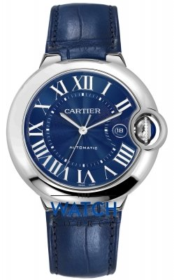 Cartier Ballon Bleu 42mm wsbb0025 watch