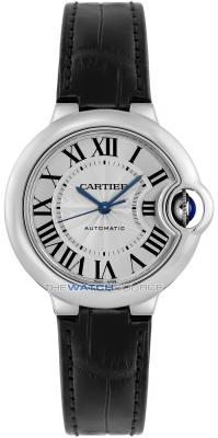 Cartier Ballon Bleu 33mm wsbb0030 watch