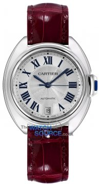 Buy this new Cartier Cle De Cartier Automatic 35mm wscl0017 ladies watch for the discount price of £3,600.00. UK Retailer.