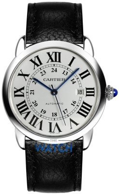Buy this new Cartier Ronde Solo Automatic 42mm wsrn0022 mens watch for the discount price of £2,790.00. UK Retailer.