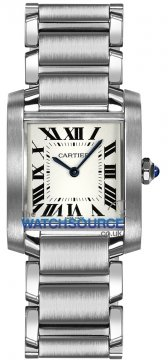 Cartier Tank Francaise Medium Midsize watch, model number - wsta0005, discount price of £3,036.00 from The Watch Source