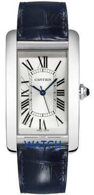 Buy this new Cartier Tank Americaine Large wsta0018 mens watch for the discount price of £4,455.00. UK Retailer.
