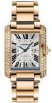 Cartier Tank Anglaise Medium Automatic wt100003 watch
