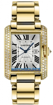 Buy this new Cartier Tank Anglaise Medium Automatic wt100006 ladies watch for the discount price of £36,900.00. UK Retailer.