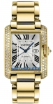 Cartier Tank Anglaise Medium Automatic wt100006 watch