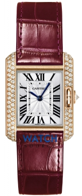 Buy this new Cartier Tank Anglaise Small wt100013 ladies watch for the discount price of £17,730.00. UK Retailer.