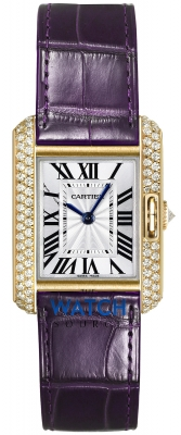 Buy this new Cartier Tank Anglaise Small wt100014 ladies watch for the discount price of £17,730.00. UK Retailer.