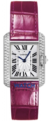 Buy this new Cartier Tank Anglaise Small wt100015 ladies watch for the discount price of £18,990.00. UK Retailer.