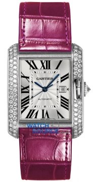 Buy this new Cartier Tank Anglaise Medium Automatic wt100016 ladies watch for the discount price of £25,650.00. UK Retailer.