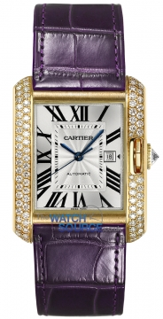 Buy this new Cartier Tank Anglaise Medium Automatic wt100017 ladies watch for the discount price of £25,650.00. UK Retailer.