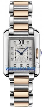 Cartier Tank Anglaise Small Ladies watch, model number - wt100024, discount price of £6,380.00 from The Watch Source