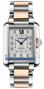 Cartier Tank Anglaise Medium Automatic Ladies watch, model number - wt100025, discount price of £6,715.00 from The Watch Source