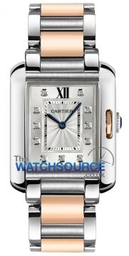 Buy this new Cartier Tank Anglaise Medium Quartz wt100032 ladies watch for the discount price of £7,605.00. UK Retailer.