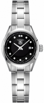 Tag Heuer Carrera Quartz Ladies watch, model number - wv1410.ba0793, discount price of £1,835.00 from The Watch Source