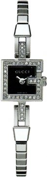 Gucci 102 Mini G Series Ladies watch, model number - YA102511, discount price of £1,535.00 from The Watch Source
