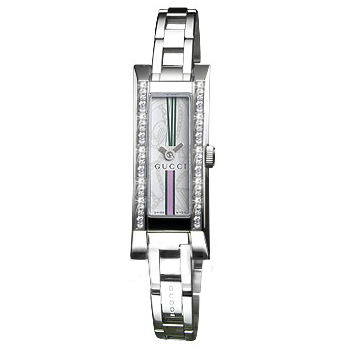 Gucci 110 G Link Series Ladies watch, model number - YA110508, discount price of £980.00 from The Watch Source