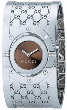 Gucci 112 Twirl Series Ladies watch, model number - YA112401, discount price of £485.00 from The Watch Source