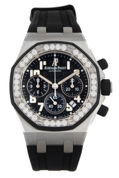 Audemars Piguet Royal Oak Offshore Chronograph 37mm Ladies watch, model number - 26048sk.zz.d002ca.01, discount price of £17,760.00 from The Watch Source