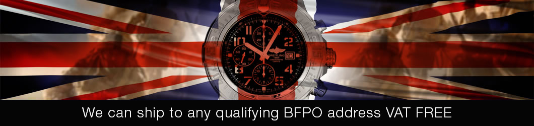 The Watch Source can ship to any qualifying BFPO - British Forces Posted Overseas address