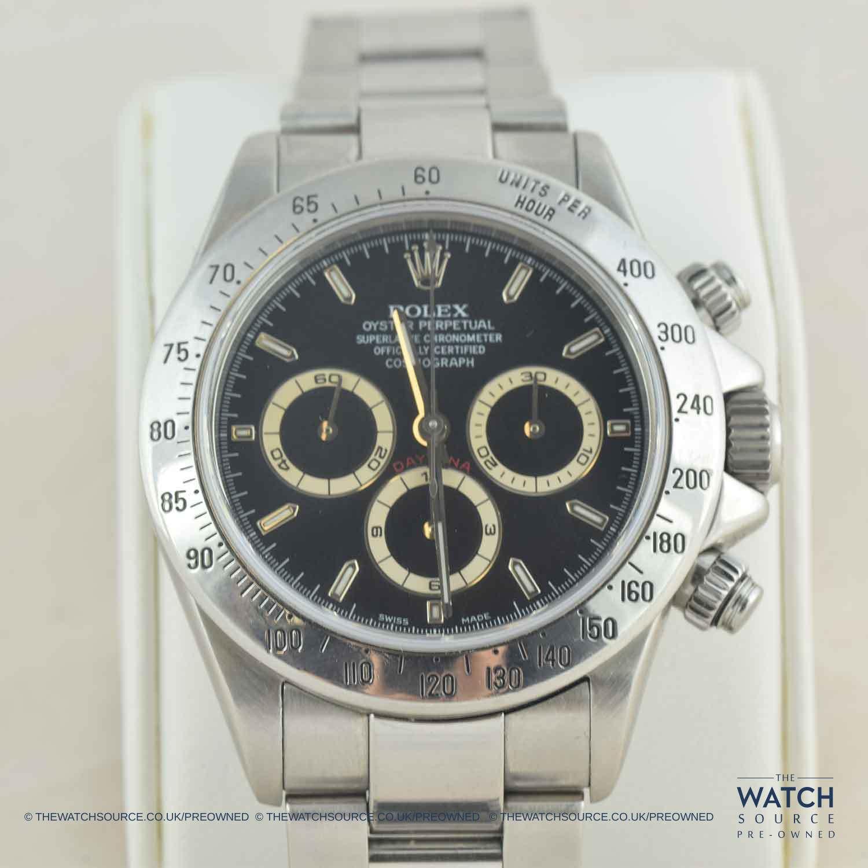 Pre-owned Rolex Daytona 1995 'Patrizzi Dial' 16520