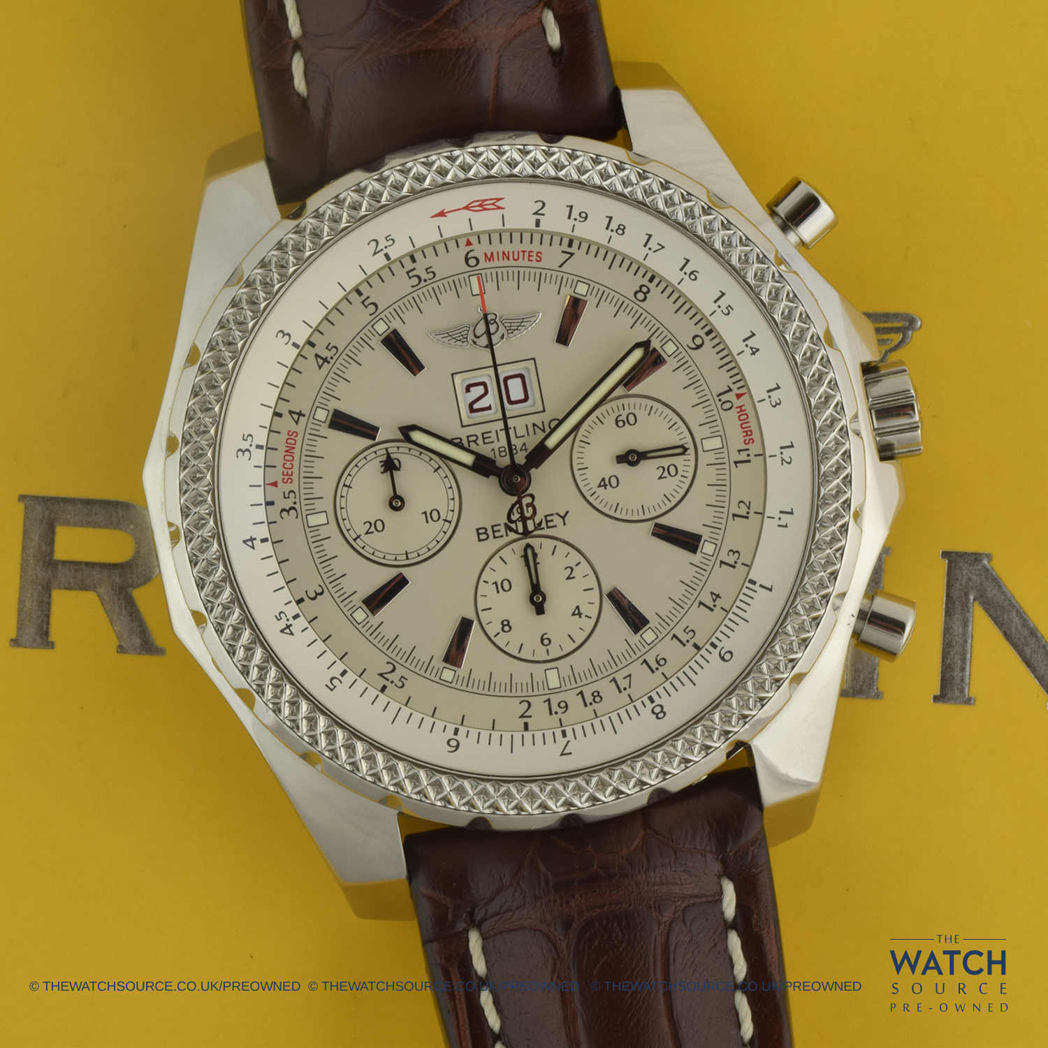 Pre Owned Breitling Bentley 6 75 Speed A4436412 G814 756p